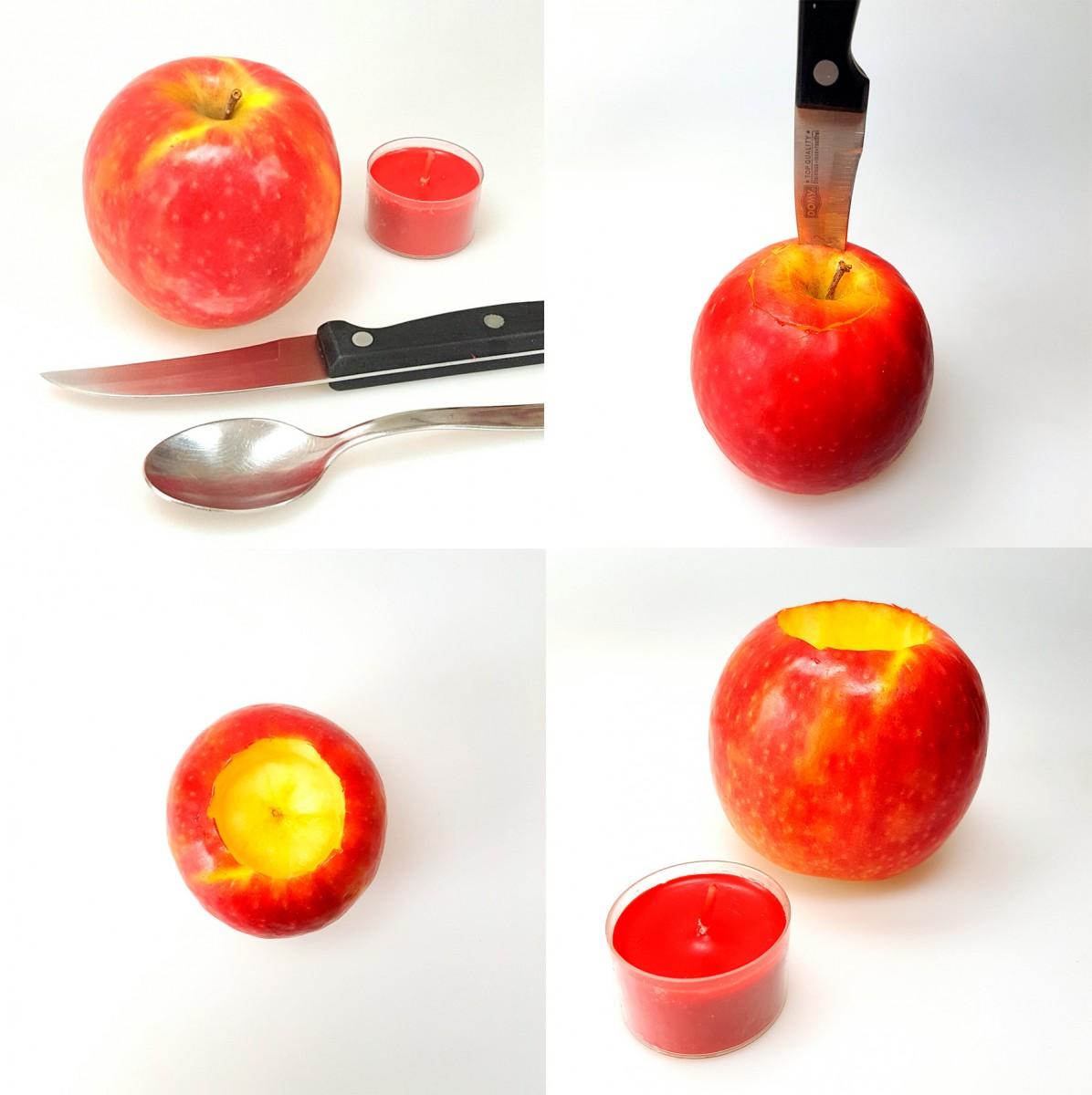 Jabolčni svečniki