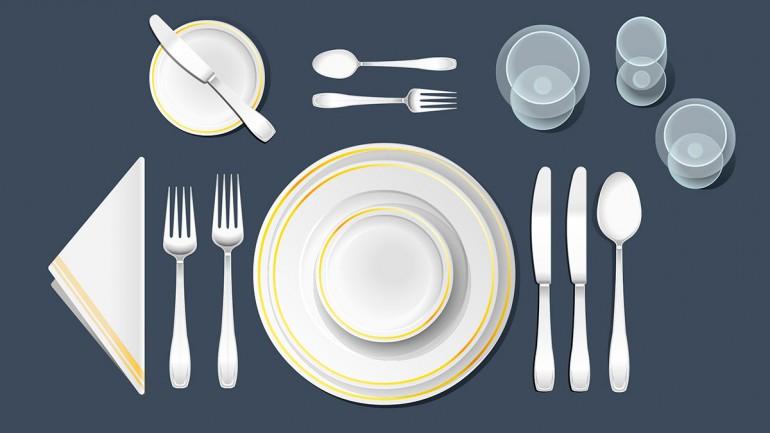 Slavnostno pogrnjena miza