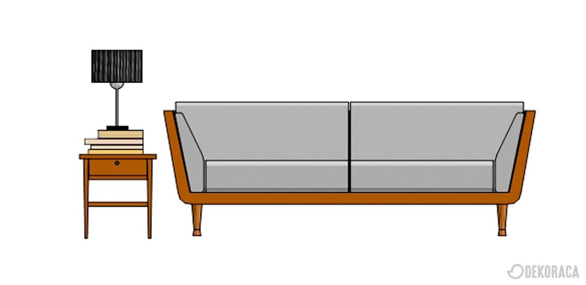 Izbira stranske mizice