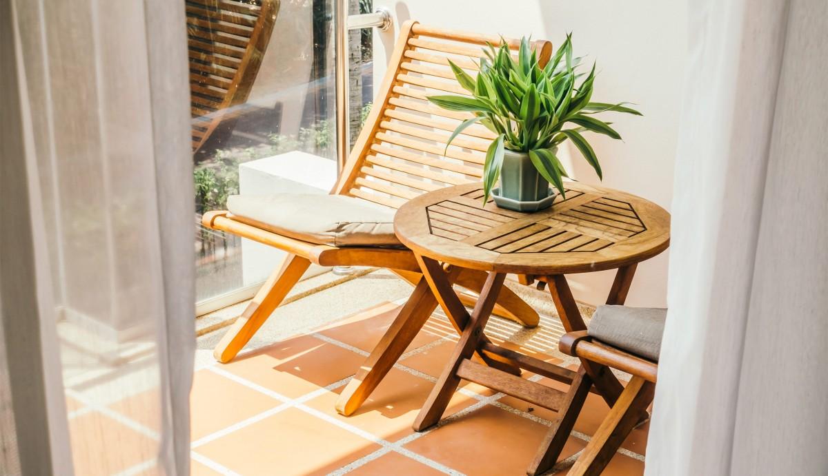 10 nasvetov za urejanje majhnega balkona