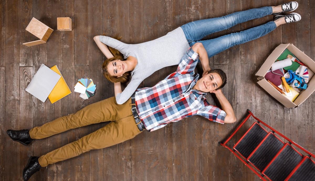 Osvežitev doma v okviru družinskega proračuna