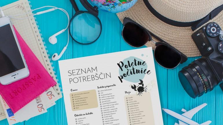Poletne počitnice – seznam potrebščin