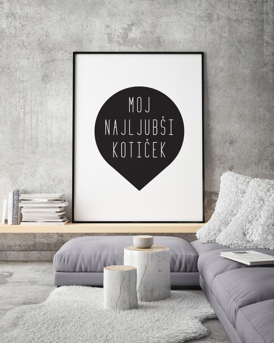 Brezplačni poster: Moj najljubši kotiček