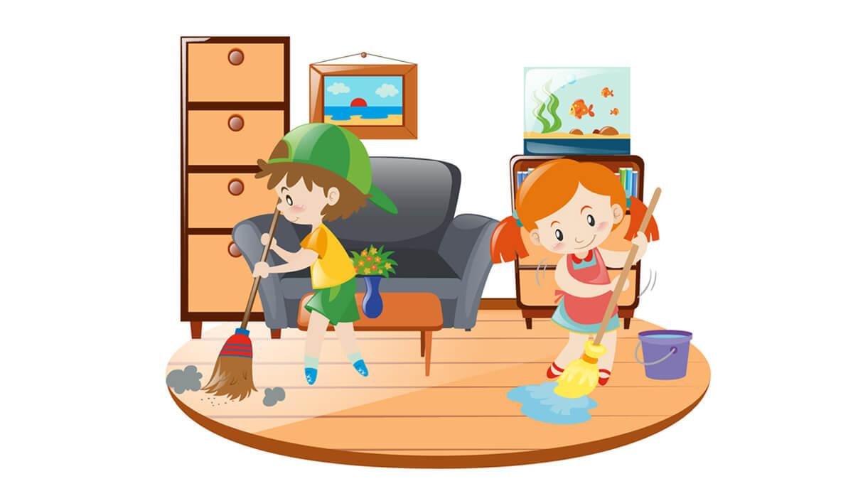 4 osnovna pravila otroškega pospravljanja