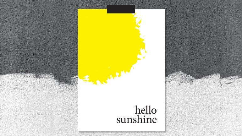 Brezplačni poster: Hello Sunshine