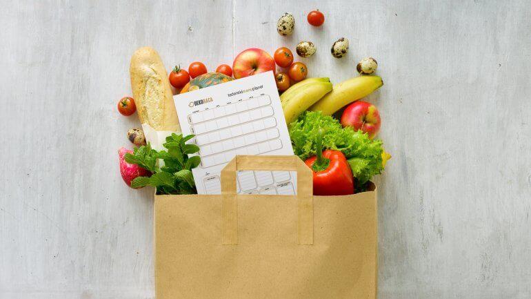 Pripravite tedenski plan jedi in nakupovalni seznam
